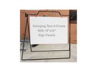 Sign Holder Swing