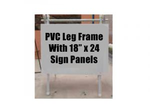 pvc_sign_aframe Sign Stand