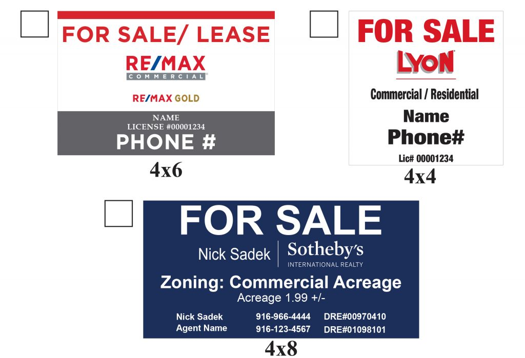 Commercial Signs Print Company Request a Quote