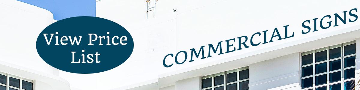 Sign Print Shop CA Commercial